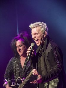 Billy Idol and Steve Stevens at The Ace Hotel