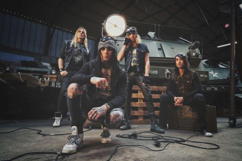 French Sleaze Rocker BLACKRAIN Release First Single and Lyric Video