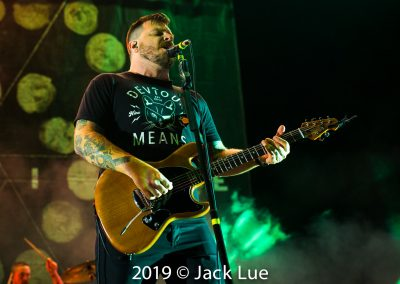 Thrice, Disrupt Festival, Five Point Amphitheatre, Irvine, CA., July 20, 2019 – Photos by Jack Lue