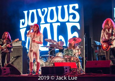 Joyous Wolf, The Wiltern, Los Angeles, CA., September 4, 2019 – Photos by Jack Lue