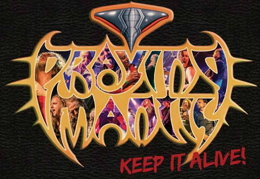 """Praying Mantis Announce New Live Album + Video """"Keep It Alive"""" Out December 6, 2019"""