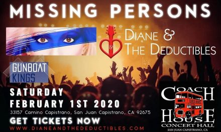 Missing Persons and Diane & The Deductibles To Rock The Coach House in San Juan Capistrano
