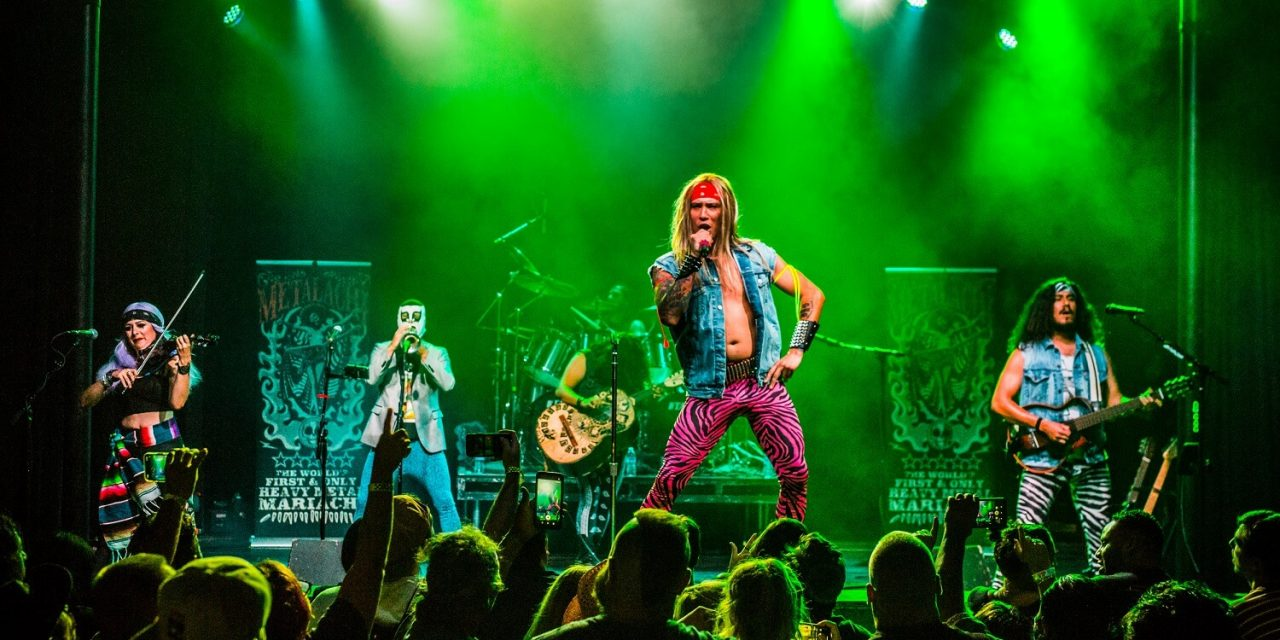 Metalachi: The World's First and Only Heavy Metal Mariachi Band – Live Photos