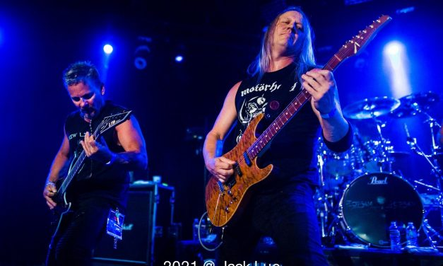 Flotsam and Jetsam, The Whisky, West Hollywood, CA., August 26, 2021
