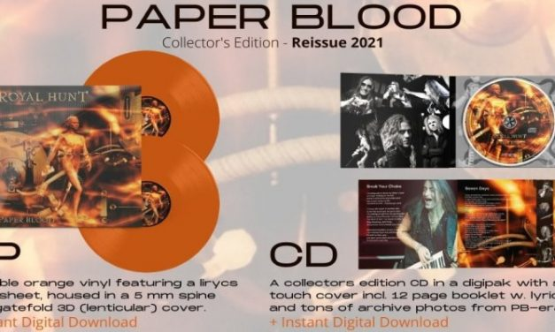 Royal Hunt Announce Paper Blood Extended Re-Issue