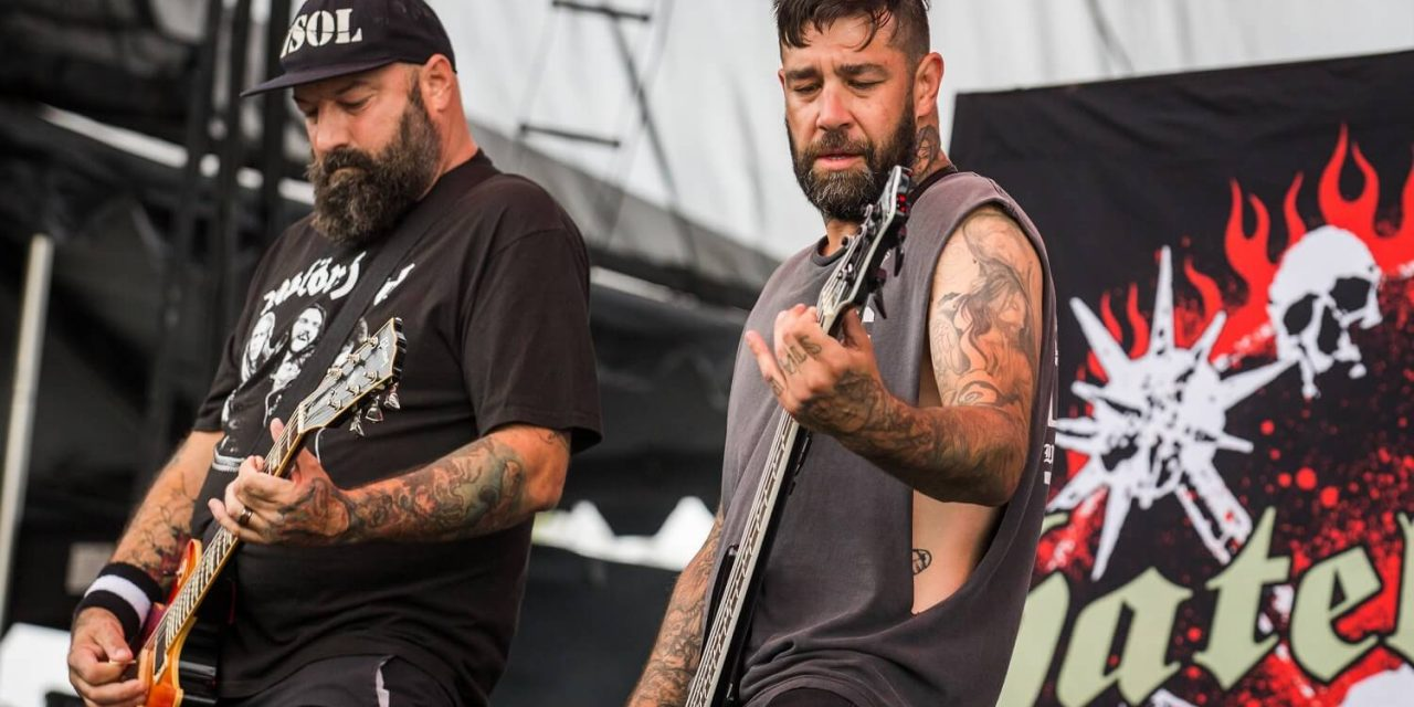Hatebreed at FivePoint Amphitheater – Live Photos