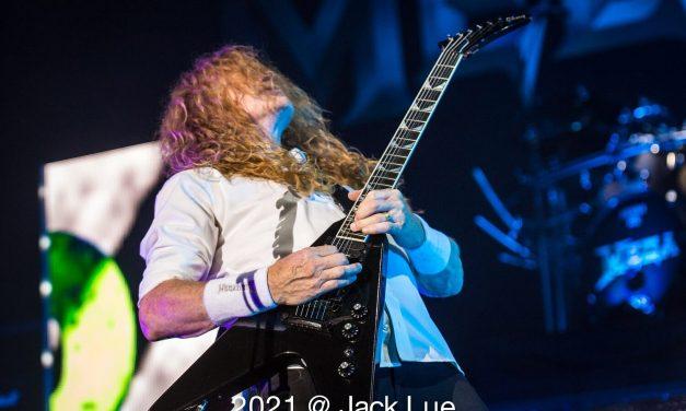 Megadeth at FivePoint Amphitheater – Live Photos