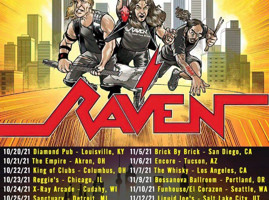 """Raven Announces """"Metal City"""" US Tour"""